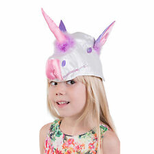 Luxury Kids Girls Unicorn Hat Mask Fancy Dress Costume (3-8 years) Lucy Locket