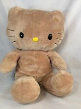 Hello Kitty Tan Plush Build A Bear 17 Inches