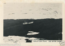 1940s USSCG Bitter Sweet buoy tender US Navy Official Photo