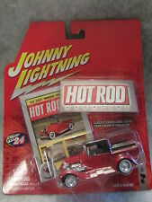 Johnny Lightning  Hot Rod Magazine  1929 Ford Pickup  Red 1:64 scale  NOC  w-02