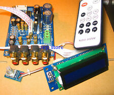 Assembeld HIFI 5.1 remote volume Controller / 6 channel preamplifier board DIY