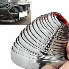 20MM X 16FT DECORATION CHROME SILVER MOULDING CAR BUMPER GRILL PORTECTOR STRIP
