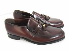 Nunn Bush Brown Leather Loafers Slip On Dress Shoes Mens Size 9.5 D 986053