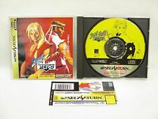 Sega Saturn STREET FIGHTER ZERO 1 with SPINE CARD * Import Japan Game ss