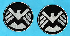 Avengers SHIELD Eagle Patch Set [Strategic Home. Interv. Enforcement Log. Div.]