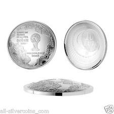 2014 FIFA World Cup Brazil Convex Coin -10 EU Silver ANACS PR69 1st.release #009