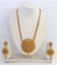 Indian Bollywood Traditional Ethnic Gold Plated Fashion Necklace Jewelry Sets