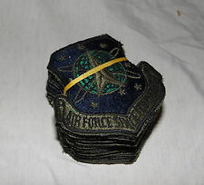 20 US Air Force Space Command Patches subdued
