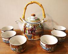 Ensemble de thé: Palais coloré Design théière set,6 cups