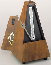 Wittner Wood Key Wound Metronome Walnut Finish 803m- With Free Extended Warranty