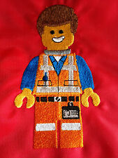 Personalised Lego Emmet School/PE/Gym/Baby/Drawstring Bag