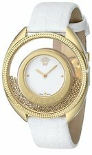 Versace Women's 86Q70D002 S001 Destiny Spirit Gold PVD Leather Band Watch