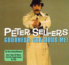 PETER SELLERS - GOODNESS GRACIOUS ME (NEW SEALED 2CD)