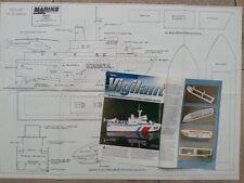 "Marine Modelling Boat Plans "" AS Patrol Boat "" & "" Vigilant """