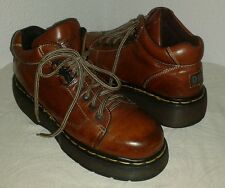 Dr. Martens Air cushioned sole Women's brown lace up ankle boots Size US 7 UK 5