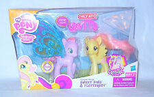 RARE My Little Pony ~*G4 FiM Glimmer Wings SWEET SONG & Flutershy MIB!*~
