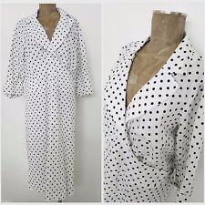 Torrid Dress Size 24 Plus Polka Dot Swing Sheath Rockabilly Pinup Cuff XXLarge
