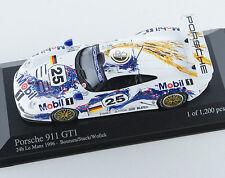 Porsche 911 GT1 24h le mans 1996 Boutsen-Stuck-Wollek 430966625 1/43 Minichamps