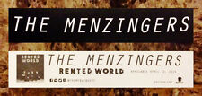 THE MENZINGERS Rented World RARE Sticker+FREE Punk Rock Stickers After The Party