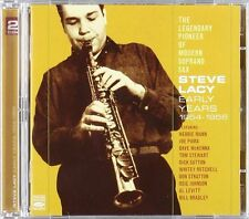 Steve Lacy THE LEGENDARY PIONEER OF MODERN SOPRANO SAX - EARLY YEARS 1954-1956