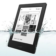 New Kobo Aura H2O Waterproof eReader Wi-Fi 6.8inch 4 GB Black Touchscreen