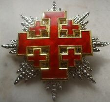 Medieval Crusade Knight Sepulcher Jerusalem Malta Medal War Cross Holy Latin Set