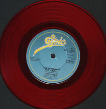 """THE QUICK the rhythm of the jungle/to prove my love RED VINYL EPC A2013 7"""" WS EX"""