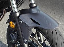 2013/16 CB500F CB500X CBR500R #HONDA #CBR 500R ABS delantero Fen #CARBON fiber fibre