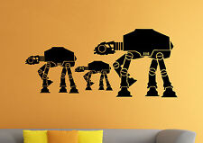 AT-AT Walker Wall Decal Star Wars Universe Vinyl Sticker Wall Mural Decor 34sw
