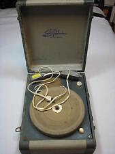 Vintage Symphonic Model 1012 33 45 78 Suitcase Record Player Portable No Spin