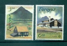 EUROPA CEPT - FAROE ISLANDS 1990 Post Offices