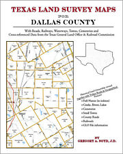 Dallas County Texas Land Survey Maps Genealogy History
