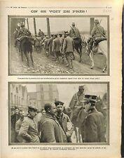prisoner Soldiers Deutsches Heer Soldats de Belgique British Army  War 1914 WWI
