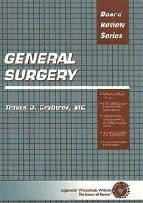 General Surgery (Board Review Series) by Crabtree MD, Traves D.