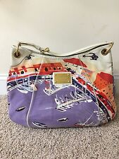 Authentic Louis Vuitton Limited Edition Canvas Galliera GM Shoulder Bag Hobo