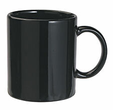 HotSip Plain & Trendy Black Coffee/Tea Mug (Ceramic Material - Microwave Safe)