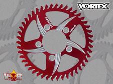 Vortex F5 Rear Sprocket Red 43T 520 Kawasaki ZX10R 2004-13 ZX12R 2000-05