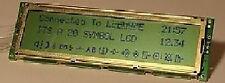 Zwei Zeilen Display mit Controler M50530
