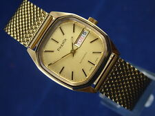 Vintage Phenix Revue Automatic Gents Swiss Watch Circa 1970S NOS
