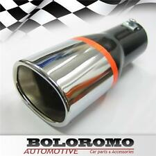 Car Exhaust Tip Muffler Pipe Chrome Fits Mazda Rx-7 Mx-3 Rx-8 Mx-5 323 626 Bongo