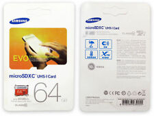 Brand New Samsung 64GB Micro Sd SDXC Class 10 Memory Card 48MB/s