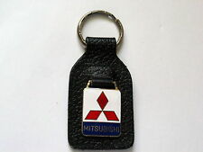 Mitsubishi Keychain Leather Key Chain (#1124)