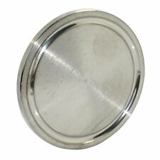 HFS 2 INCH SS316 Sanitary End Cap fits Tri-Clamp Ferrule Flange
