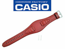 Casio G-300L-4AV original watch band strap Red 16mm G300L-4AVJCR leather