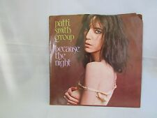 Patti Smith Group: Because the Night/God Speed Mint Rock Single 45RPM EX 1978 7""