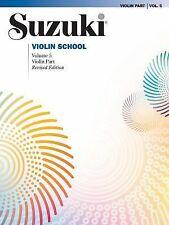 Suzuki Violin School : Violin Part Vol. 5, 2009
