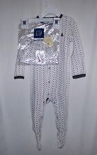 NWTS BABY GAP FIRST FAVORITES POLKA DOT COVERALL W/MTCH HAT SIZE 6-12MO BROWN