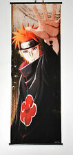 Wall Scroll Poster Fabric Painting Anime Naruto Pain 49.2X17.7 inches