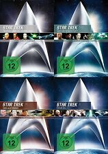 Star Trek RAUMSCHIFF ENTERPRISE Kinofilm Collection CAPTAIN PICARD 4 DVD Edition