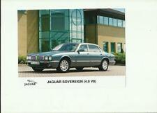 "JAGUAR SOVEREIGN 4.0 V8 PRESS PHOTO ""BROCHURE RELATED"""
